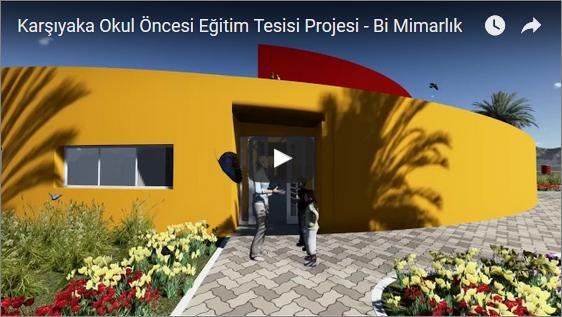 Karşıyaka Okul Öncesi Eğitim Tesisi Projesi – Bi Mimarlık